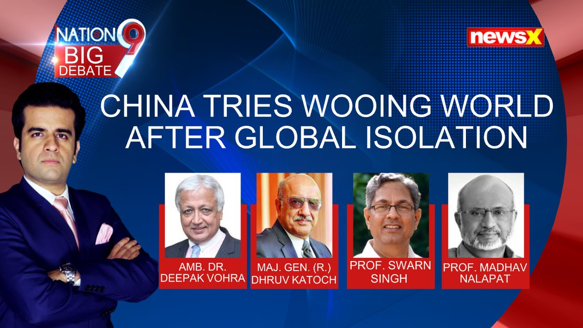 After being isolated globally, Chinese President Xi Jinping is not trying to reach out to the world.  @Dhruv_CK @MD_Nalapat @SwaranSinghJNU  @UdayPratapSingh  . . . Watch The Full Interview on #NewsX YouTube.