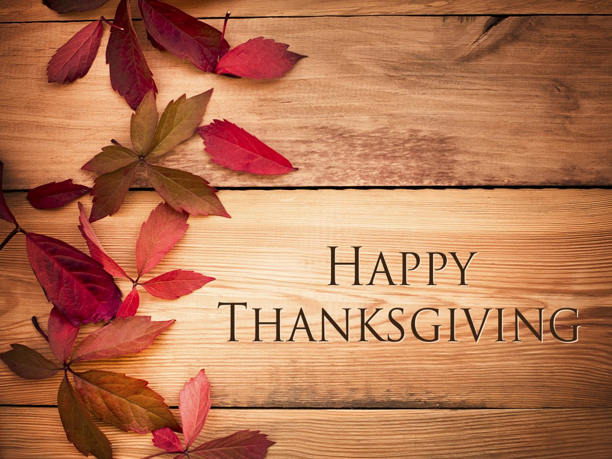 We sometimes take for granted the people that deserve our #gratitude the most. Express deep thanks today. #HappyThanksgiving