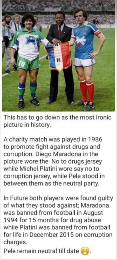 #maradona10 #Pele80 #Platini