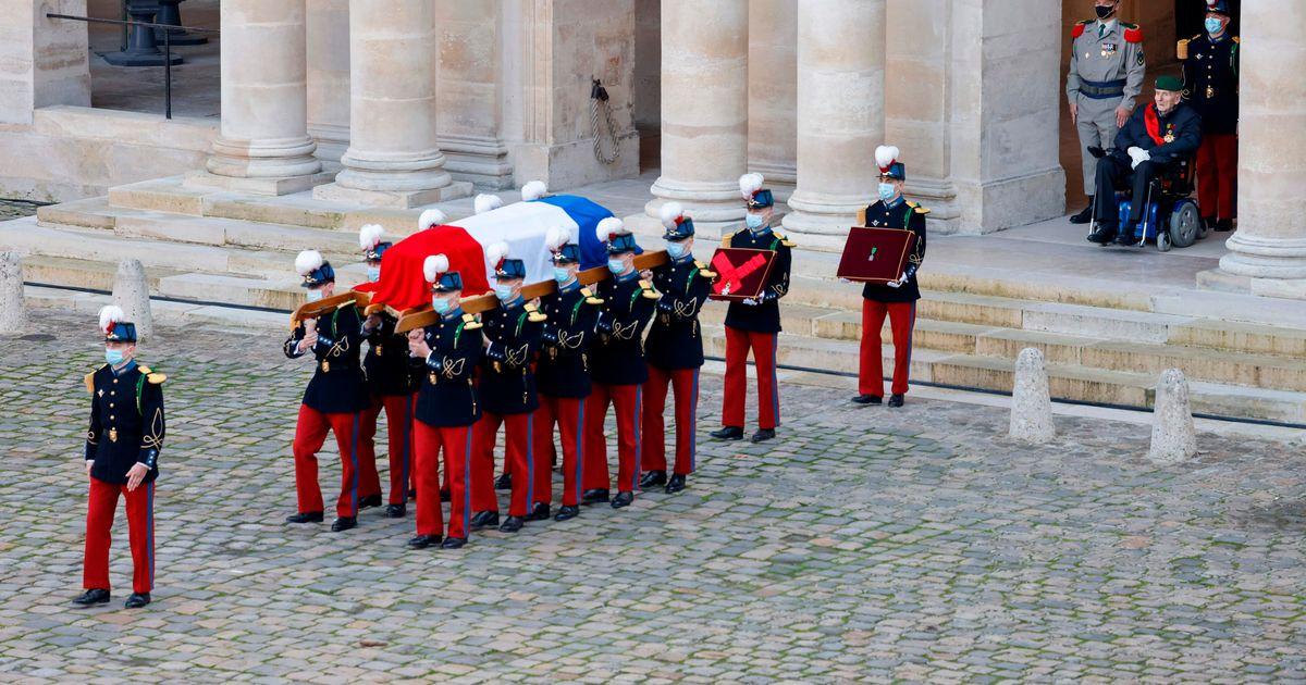 Revue de presse -  Hommage à #DanielCordier: le regard émouvant d'Hubert Germain, le dernier Compagnon de la Libération https://t.co/qNAZJYVnHh | wnews https://t.co/VcoKhexXN0