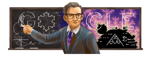@GoogleDoodles Benoit Mandelbrot's 96th Birthday https://t.co/GxcYMQqJFk