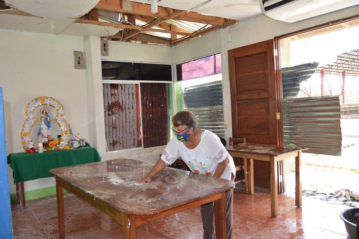🌳 Comunidad universitaria realiza jornada de limpieza para reactivar el recinto Bilwi   #UniversidadComunitariaIntercultural Ver más en⬇ #Nicaragua #costacaribe #Bilwi #HuracanEta #Huracanlota #yosoyuraccan