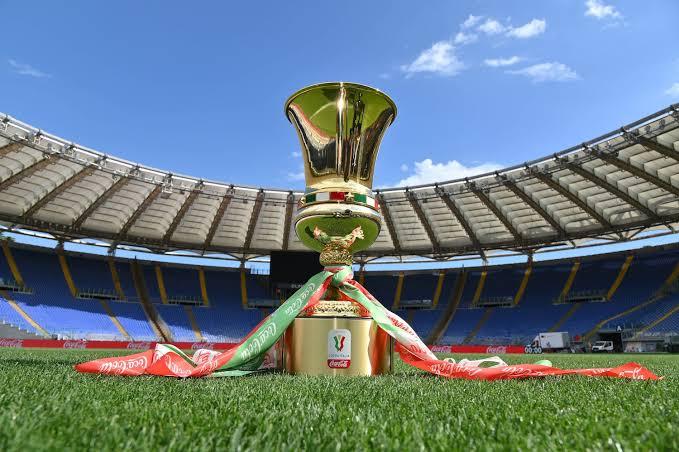 Definidos os confrontos das oitavas de final da Coppa Italia:  Atalanta-Cagliari Lazio-Parma Napoli-Empoli Roma-Spezia Inter-Fiorentina Milan-Torino Sassuolo-Spal Juventus-Genoa https://t.co/YOsKOMQfky
