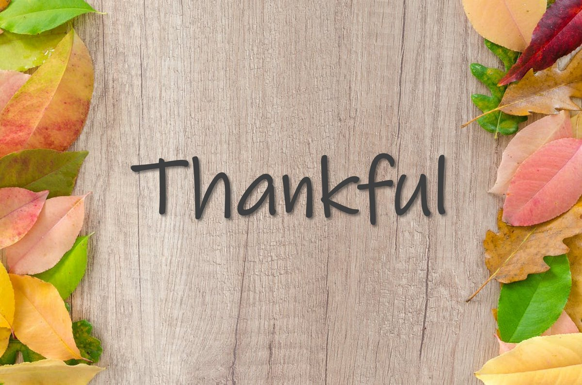 We have a lot to be thankful for this year. To those who helped turn this dream into reality and to the professionals who have committed to strengthening their #socialimpact with us, we are especially grateful. May you and yours have a happy and healthy Thanksgiving!