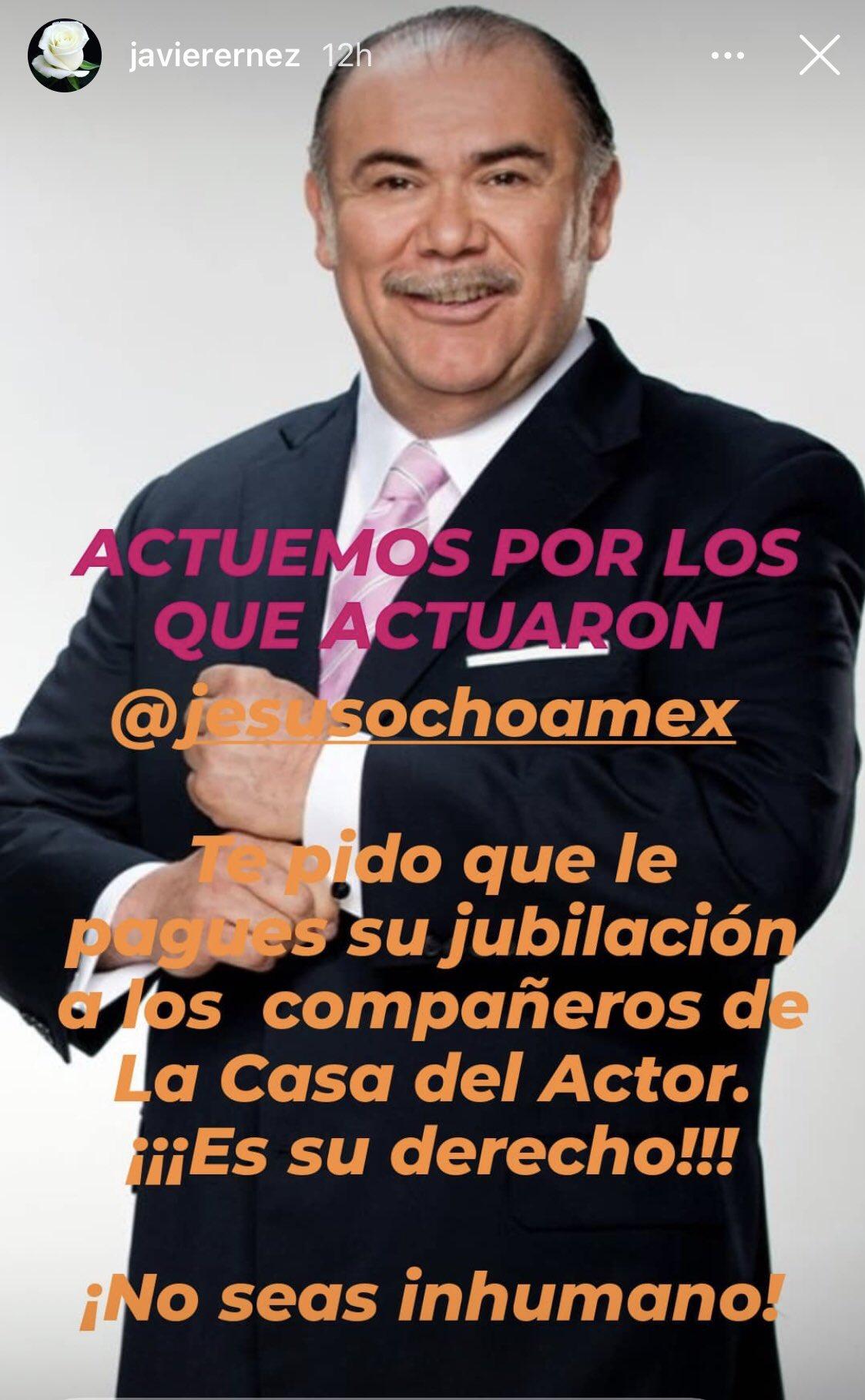 exigen pago de jubilaciones de la ANDA a Jesús Ochoa