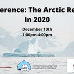 Image for the Tweet beginning: New conference: The Arctic Region