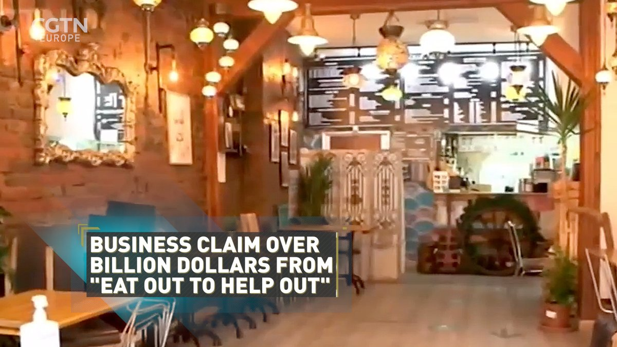 🍔 Did the UK's Eat Out to Help Out scheme for bars and restaurants do more harm than good?   The government gave out $1.1 billion to aid the hospitality sector, which offered discount meals, but the scheme has been blamed for helping COVID-19 to spread.  @TheJulietMann reports👇