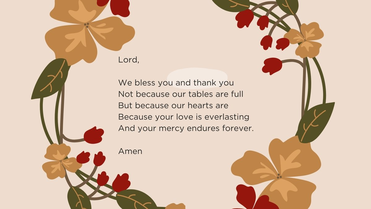 Happy #Thanksgiving from Catholic Relief Services. We are counting our #blessings, and that includes you.