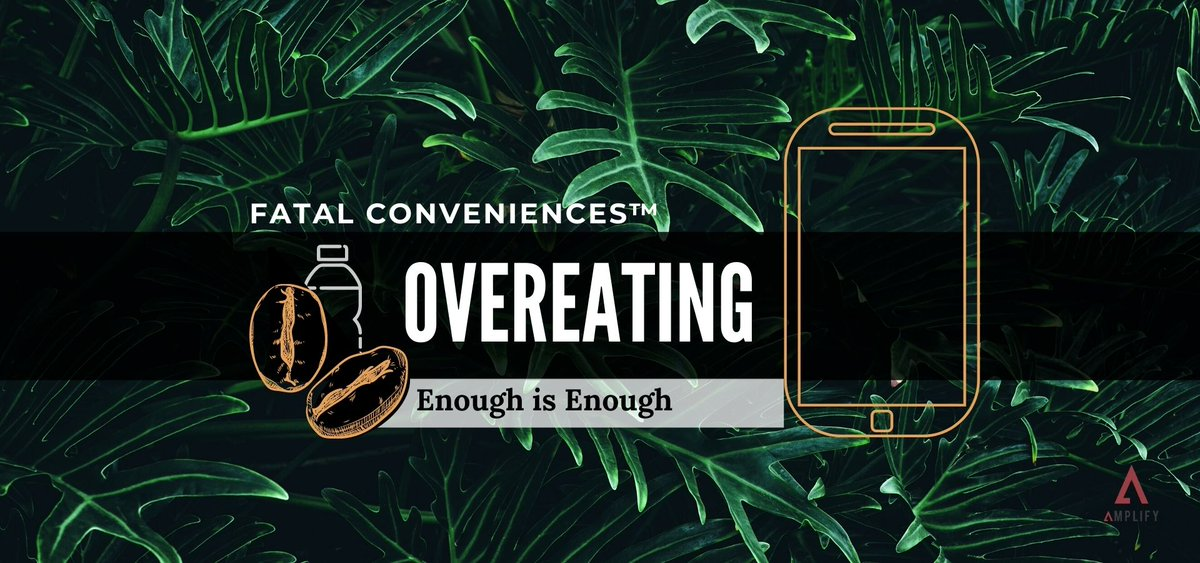 Happy Thanksgiving! 💫  If you're skipping the giant feast this year for something smaller, I'm here to tell you that's not necessarily a bad thing.   Learn more about the evolution of overeating in this Fatal Conveniences™ segment. OUT NOW!