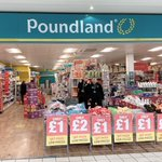 Image for the Tweet beginning: Poundland is open and staying