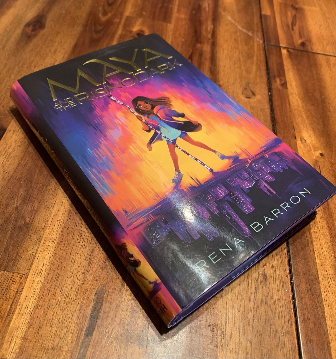 @renathedreamer Loved this story! Now it will go to school for students to read.