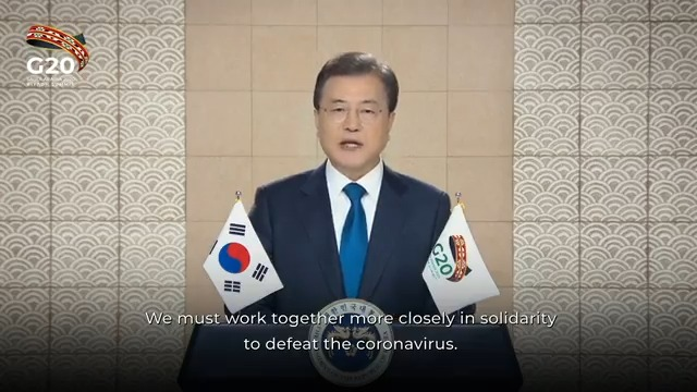 President of South Korea, Moon Jae-in, participated in the #G20RiyadhSummit Side event on Pandemic Preparedness and Response on November 21, 2020.   Watch the full event at