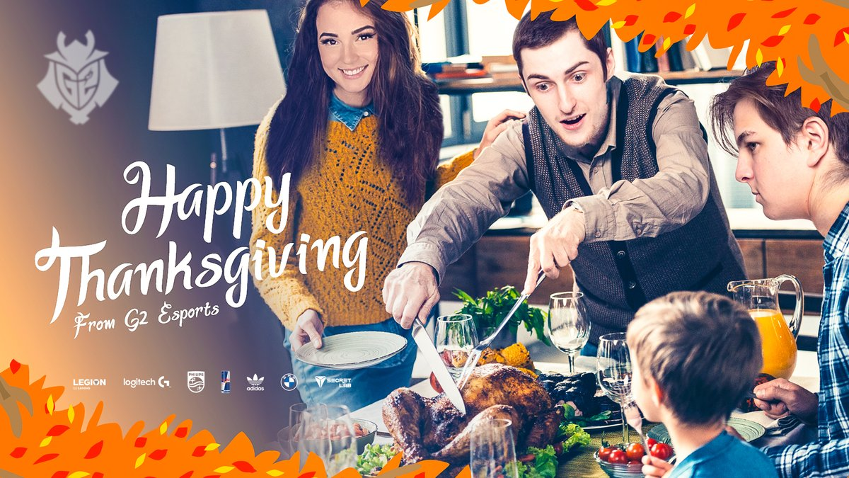 G2 Esports - Nice turkey sweetie!  Happy Thanksgiving from everyone at G2! ❤️