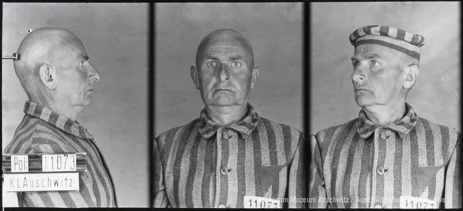 27 listopada 1887 | W Viersen urodził się Niemiec Gottfried Küsters.  W #Auschwitz od 21 marca 1941 r. Nr 11073 Zginął w obozie 5 sierpnia 1942 r. https://t.co/Mrj1z0o0FZ