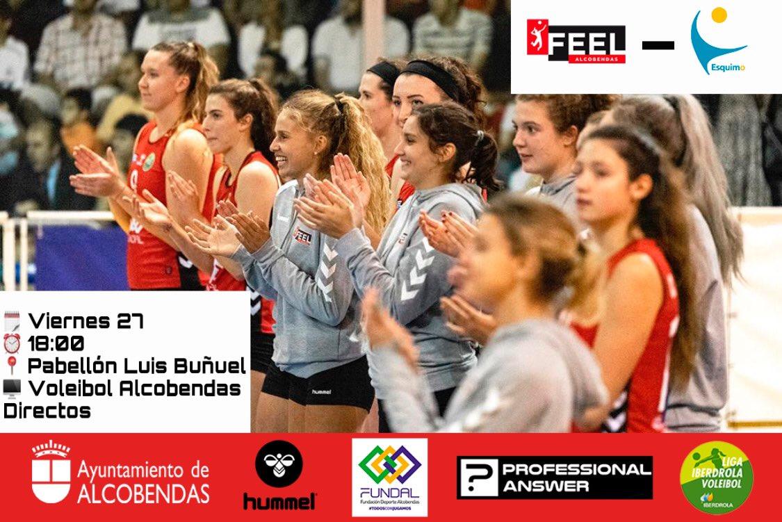 DOBLE cita con el mejor VOLEIBOL el que se disputará en el Pabellón Luis Buñuel de #Alcobendas en #SFV 20-21! VIERNES,27 a las 1️⃣8️⃣ horas (J.1ª) @voleyAlcobendas 🆚 @Cajasolvoley SÁBADO,28 a las 1️⃣9️⃣ horas (J.10)  @voleyAlcobendas 🆚 @CVHaris https://t.co/pL4fYDDVvC