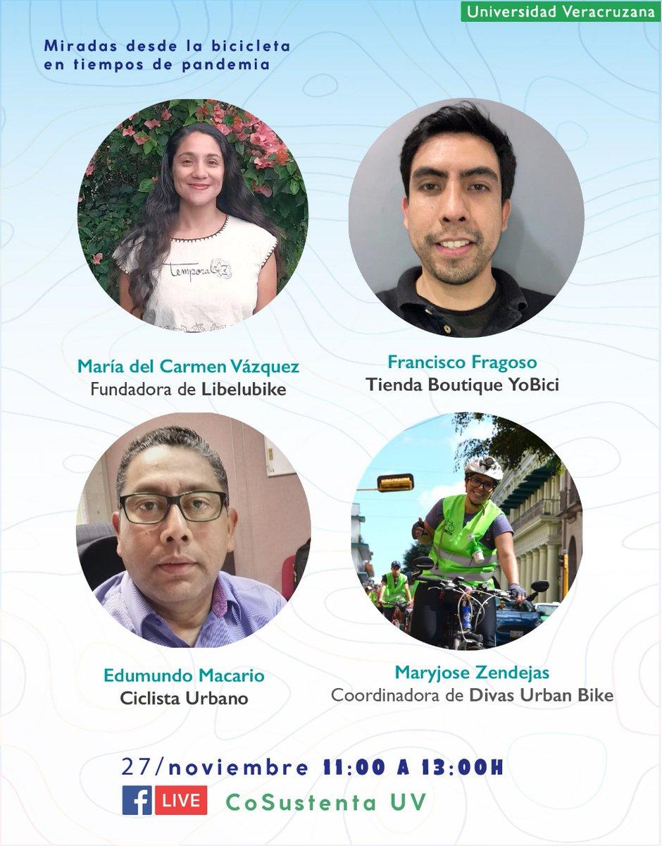 Miradas desde la #bici en tiempos de #pandemia  Lléguenle mañana.. Universidad Veracruzana #ciclista #Xalapa #LaCicloviaVa #RT https://t.co/1suxO9OQnl