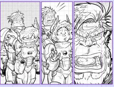 Captain Bedlam hears about the thing.  #GorillaGalaxy Art by  @moreo_pedro  #Raypunk #Sciencefiction  #adventure  #spaceopera #scifiart #pulp #new #MondayVibes  #FridayVibes  #SundayThoughts #comics #art #drawing #illustration #digitalart #comicart  #comicbooks #artwork