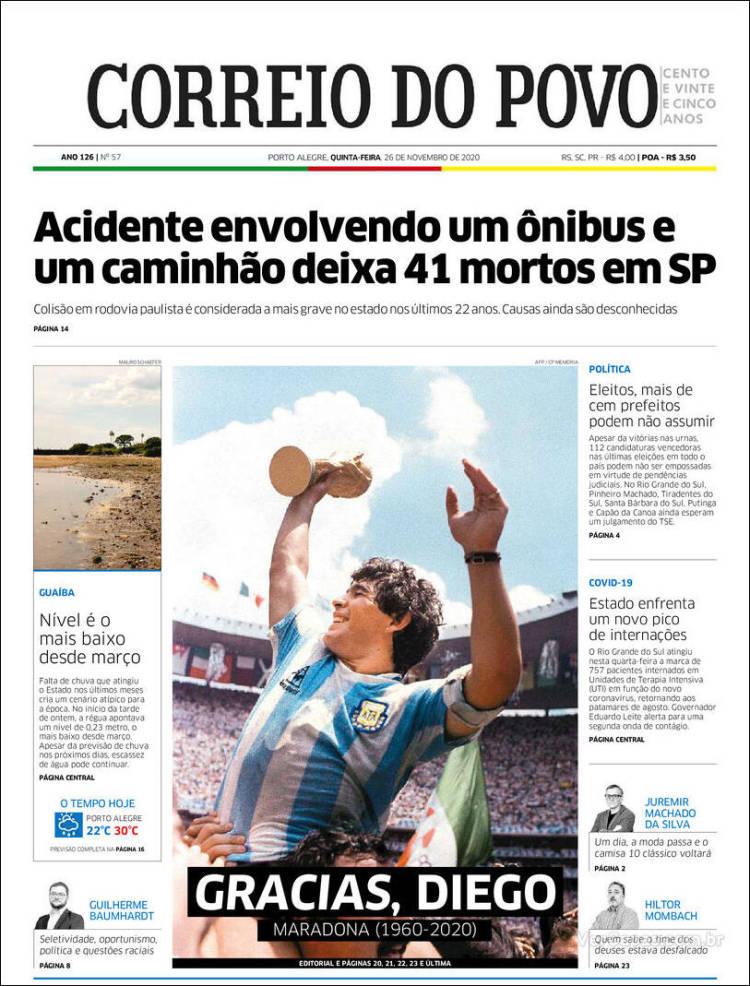 Correio do Povo (Brasil) https://t.co/iXpur4fx3b
