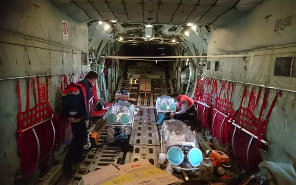 Covid-19 patients airlifted to Athens as ICU demand rises https://t.co/77AEpTP0io https://t.co/klnvr3t0Ce
