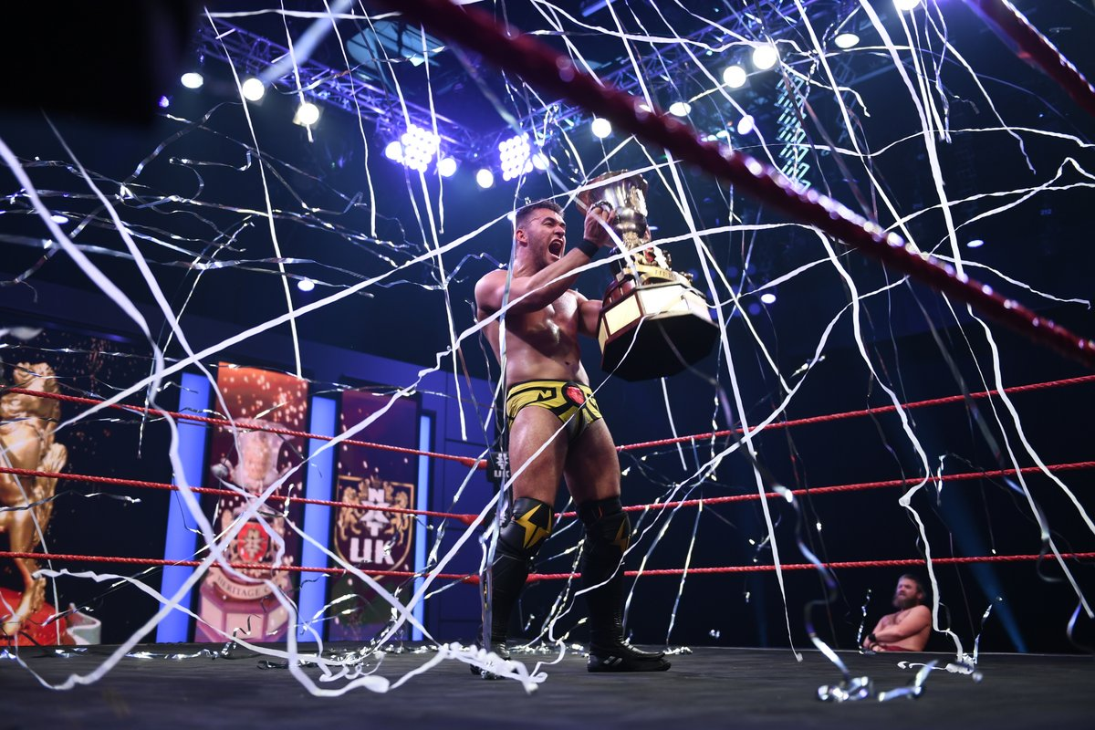 A-Kid Wins The WWE NXT UK Heritage Cup (Photos, Videos)