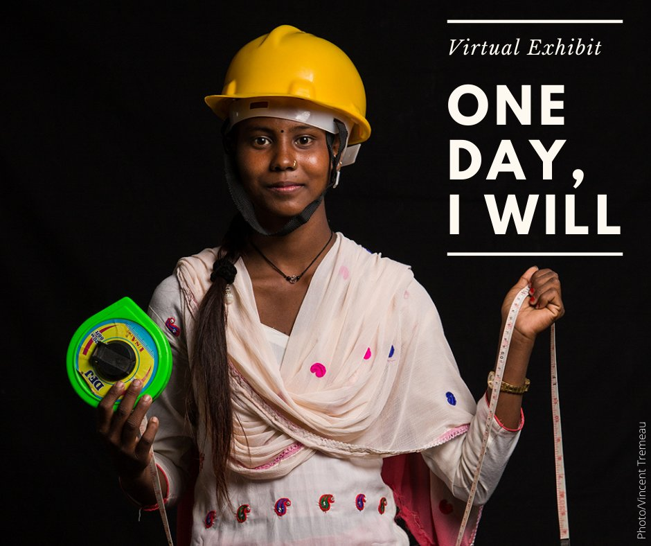 """#EducationCannotWait """"I just want a career that lets me be independent. It's pretty simple really: I want to be in charge of my own life and not have anyone else make decisions for me.""""  Sarita, Nepal. Check out #OneDayIWill, a new @UNOCHA virtual exhibit"""