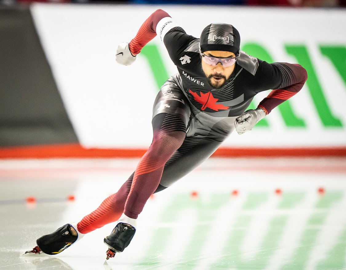 New @HangWithChamps podcast in the pipeline w/@TeamCanada 2x @Olympics @ISU_Speed @SSC_PVC  @cdnhappygilmore #GilmoreJunio!  If you have a question for Gil or want to offer a #Top3 category, DM or leave in comments.  Show drops Tuesday!  #Canada #Olympics (Photo cred: Gil Junio) https://t.co/4NaOe8deua