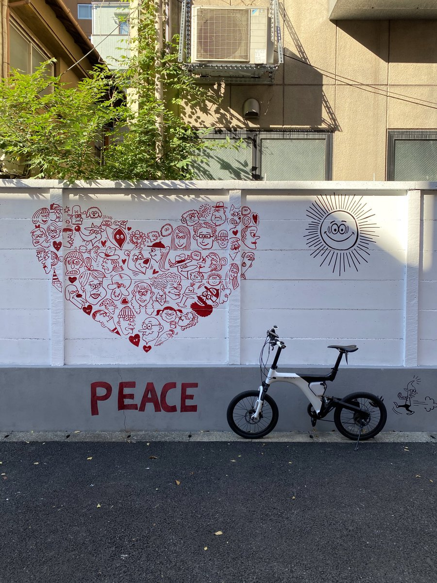 おでかけBESV 〜 #南青山 編〜  アーティスト #ryuambe さんの #壁アート 作品や フィットネスラウンジ #ReXeR さまのアート作品を巡ってきました🚲  #BESV #BESVJAPAN #ベスビー #ebike https://t.co/ztD6pHkGBC