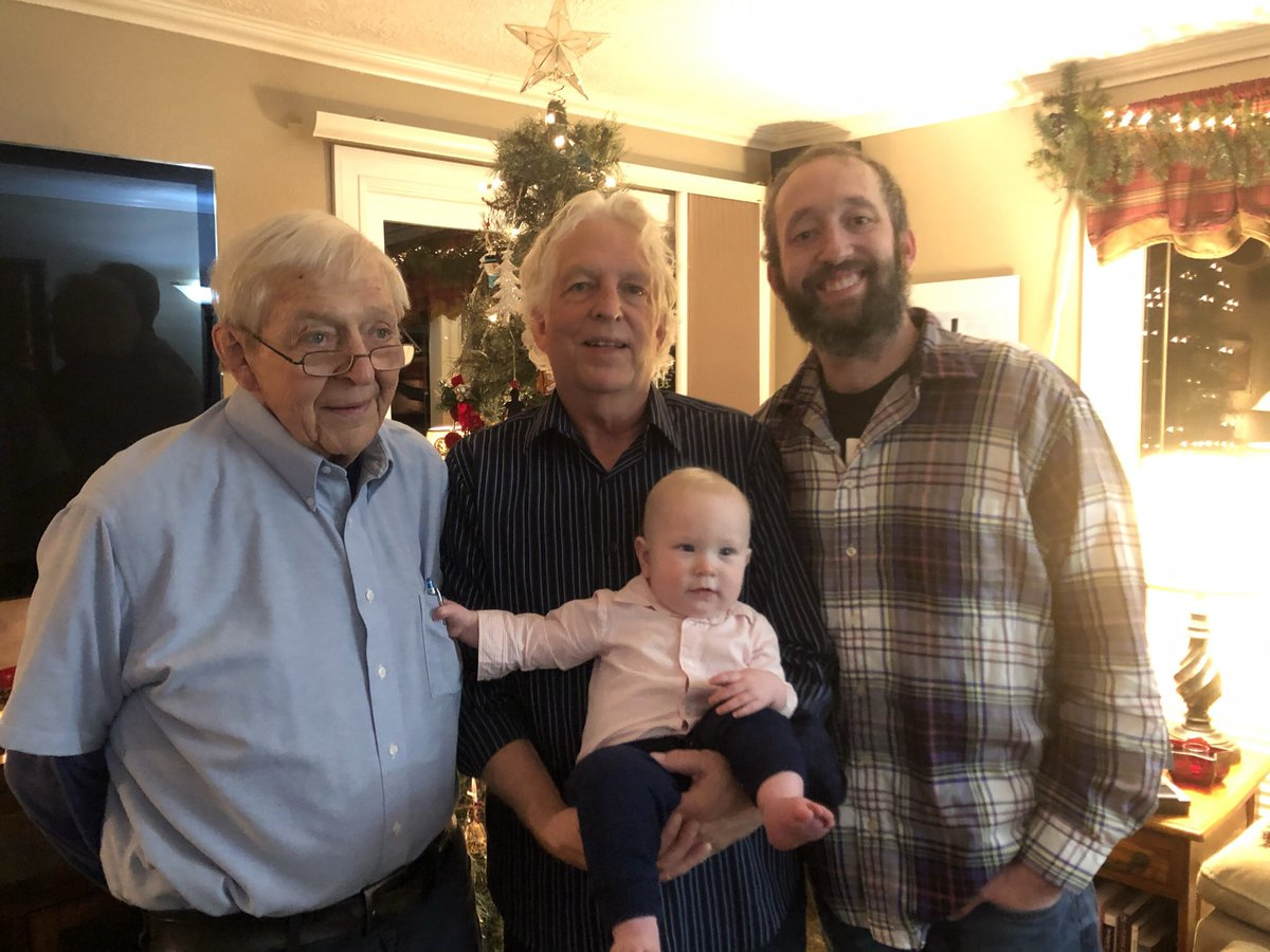 Giving thanks. Four generations of Trimmers with David as the middle name. Happy Thanksgiving. https://t.co/gSqiEcodte