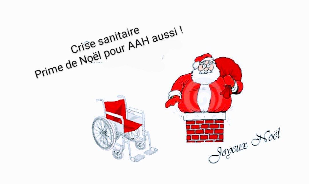 Prime de Noël pour AAH aussi - Signez la pétition ! https://t.co/B0vnTy3UvR  #Handicap #HandiValide #CestLaBase @AccessibleTOUS https://t.co/VkmHsveQuW