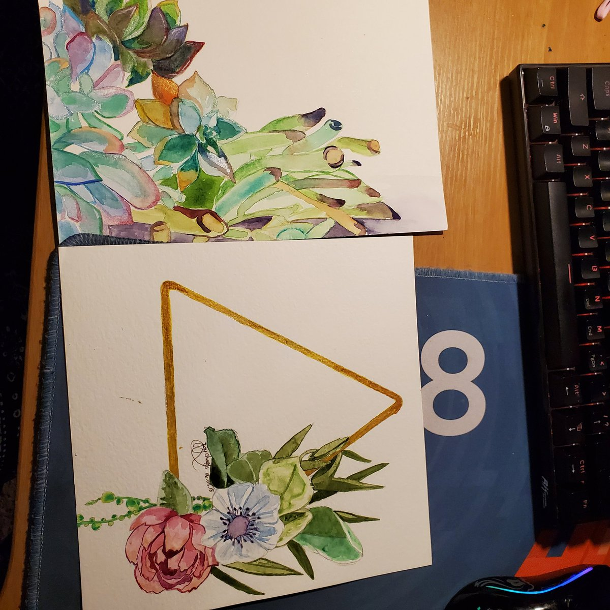 Found these water color paintings i did 2 years ago