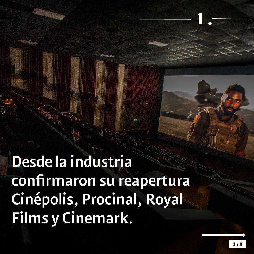 Desde este jueves, más de 500 salas reinician operaciones, incluyendo las de grandes empresas y los cinemas alternativos. Esto es lo que debe tener en cuenta.