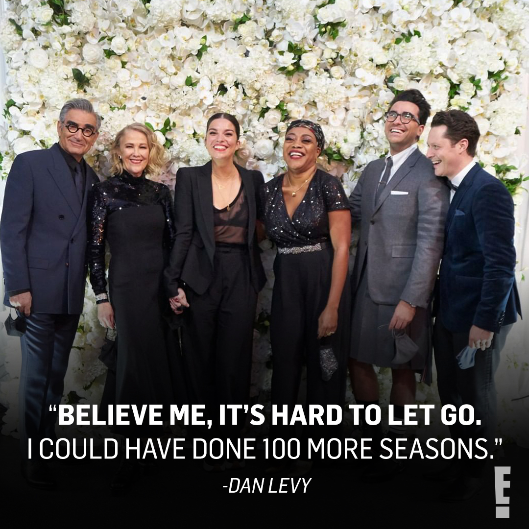 Aw, David! We're #ThankfulFor the final season of Schitt's Creek coming into our lives at the perfect time. ❤️ Now we'll take those 100 more seasons...