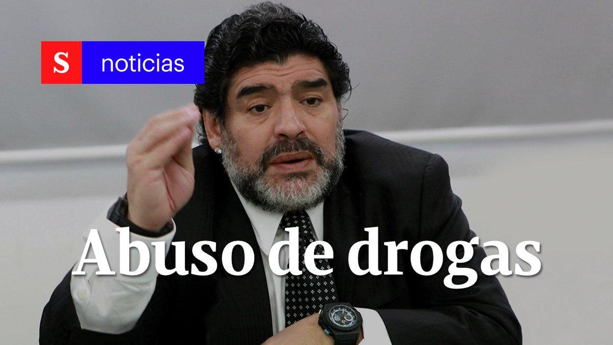 """""""¿Sabés qué jugador hubiese sido yo si no hubiese tomado cocaína?"""": Maradona sobre su adicción. """"A él lo mató la droga"""", dice experto al reflexionar sobre al abuso de estas sustancias. #SemanaNoticias"""