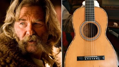 On the Hateful Eight set, Kurt Russell accidently smashed a 145-year-old Martin guitar worth $40,000 instead of one of the half dozen replicas he was supposed to.