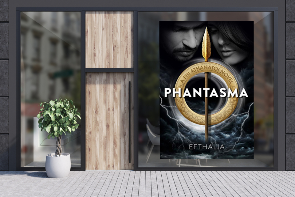 """An amazing #supernatural romance read full of twists and turns. Grab a copy of """"Phantasma"""" now. #suspense #romance #paranormal #fantasy #vampire  @EfthaliaAuthor available at Amazon -->"""