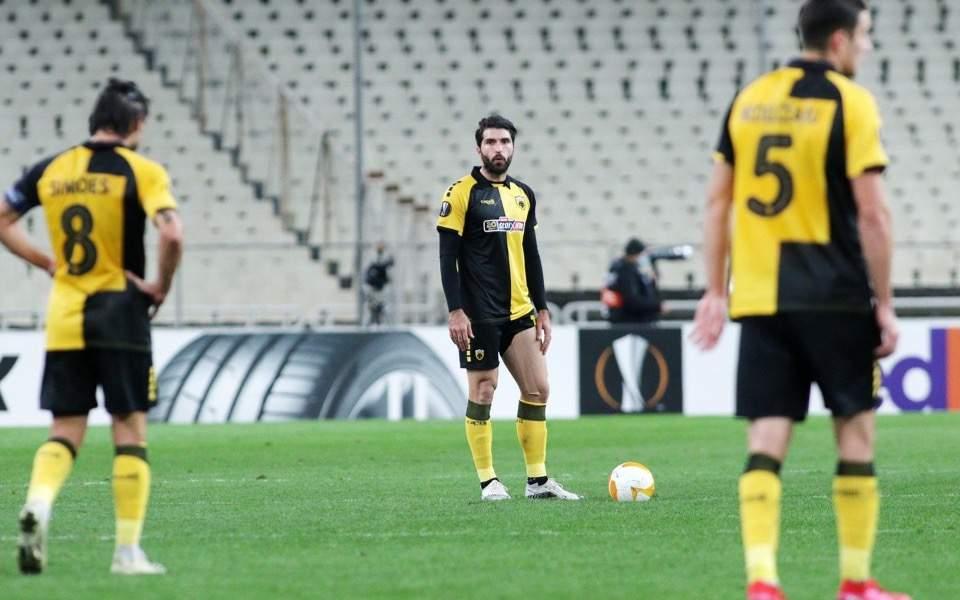 Ten-man AEK crumbles, PAOK suffers PSV comeback https://t.co/DSs77ttgJd https://t.co/hCwgDRB65d