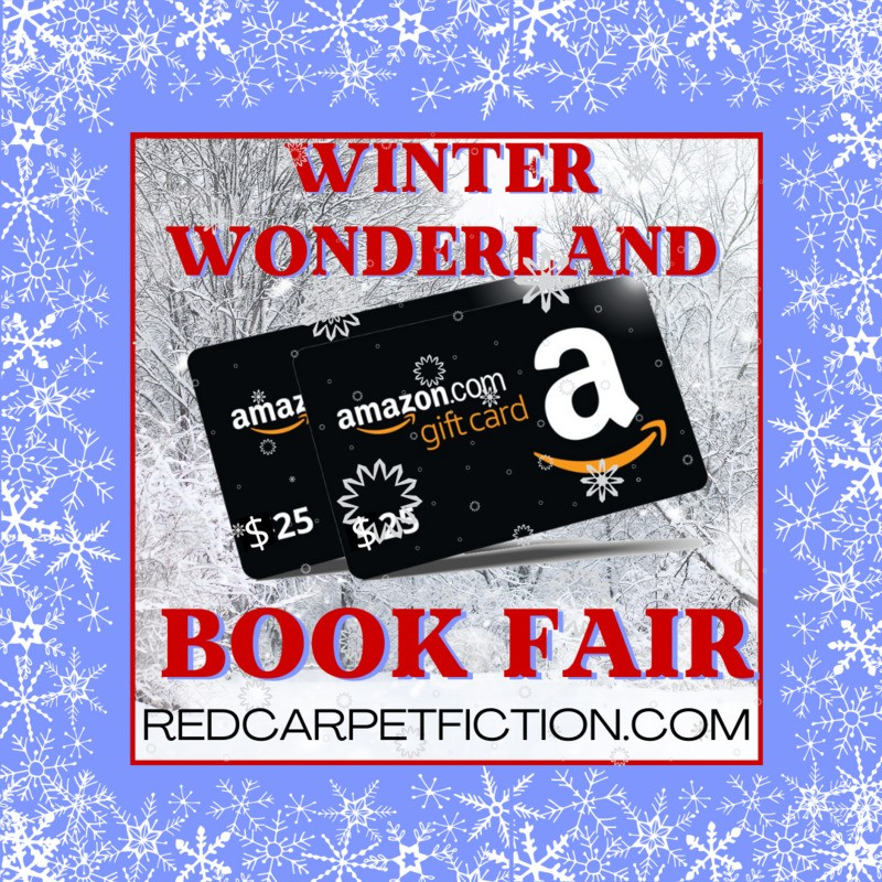 You might win Amazon gift cards w/Red Carpet Fiction's Winter Wonderland Book Fair, + see romance titles, from sweet to spicy, with Christmas stories, contemporary romance, #fantasy and #paranormal – and    #Romance #MFRWorg #fiction #contemporaryromance