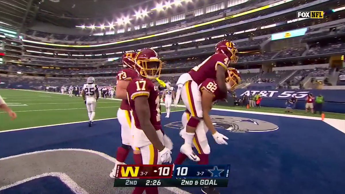 @NFLonFOX's photo on Logan Thomas