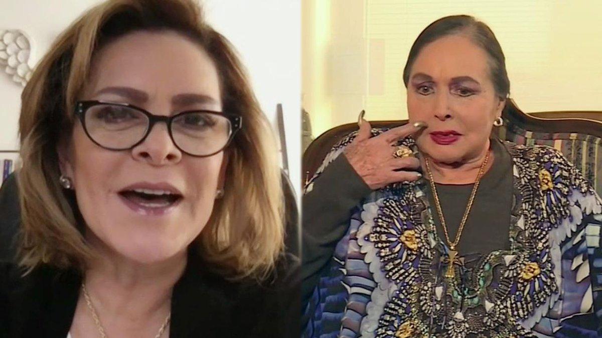 """Mara Patricia Castañeda recordó esa íntima entrevista que tuvo con Flor Silvestre: """"Nos platicó una de cosas""""."""