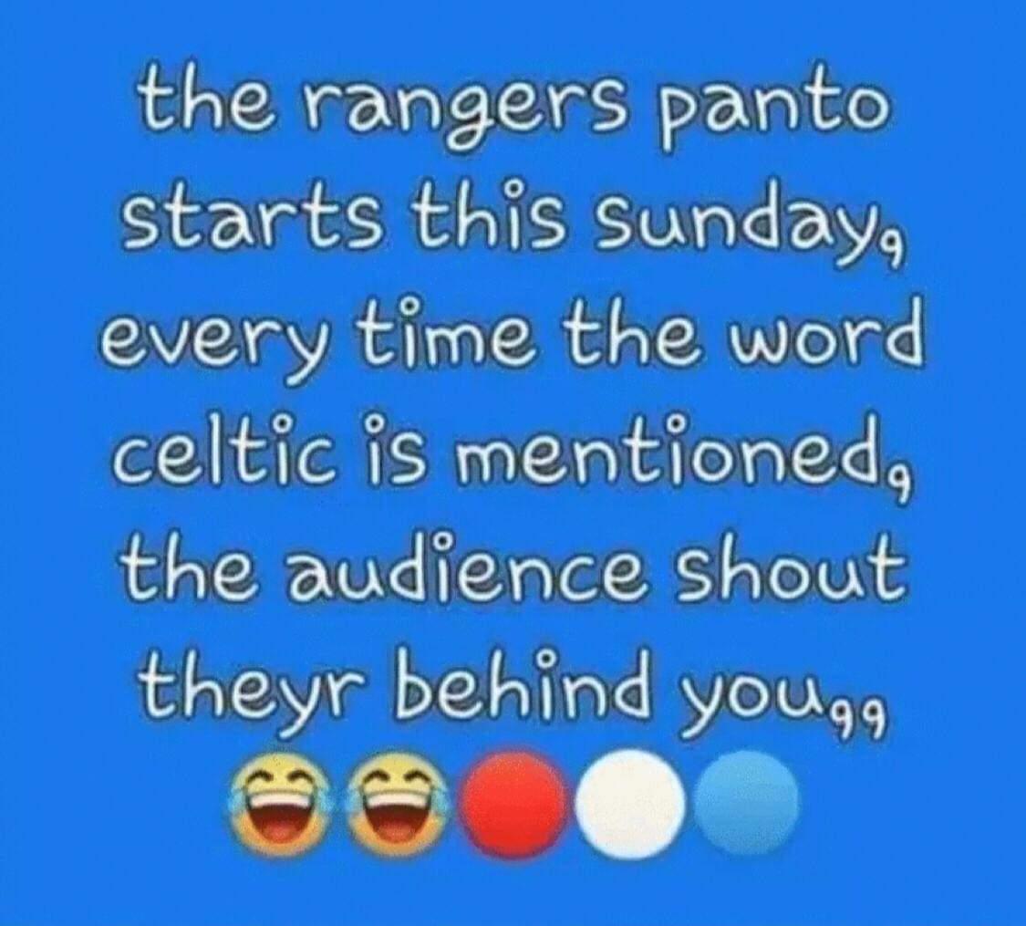 🤣🤣🔴⚪🔵 #Rangers https://t.co/BvbvUOx7ZQ