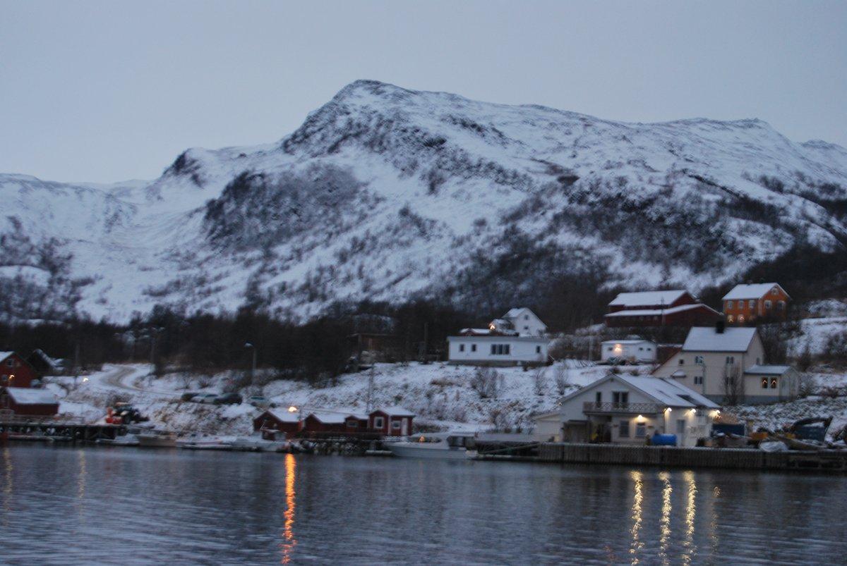 stemningsbilde ifra Neverfjord 🙂#Finnmark #november #Nikon #Nordnorge