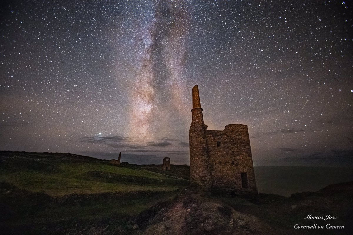 The Milky Way over West Wheal Owles at Botallack Mine. #cornwall #Poldark #whealowles #whealleisure #MilkyWay #star #stars #astronomy #Astrophotography #night #Nightsky #starphoto #planets #nofilter #photooftheday #photography #nightscape #history #heritage #industry #art #Canon