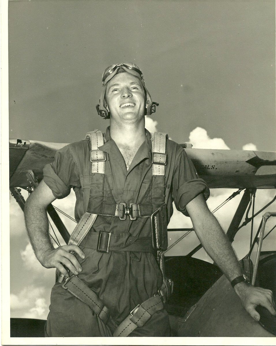 Lt. William J. Ganley, US Army Air Corps, last seen in an 800+ vertical dive at 25,000 feet over enemy territory in Vienna, Austria on 9/10/1944. He was returning to the base in Foggia, Italy after a mission. #proudtohonor @ford
