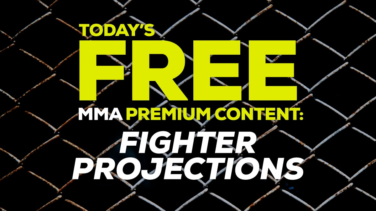 🚨 🥊 FREE TODAY 🥊 🚨   The @AwesemoMMADFS Fighter Projections for #UFCFightNight  https://t.co/mOmohyrYl9  #draftkings #fanduel #mma #dfs #ufc https://t.co/bJuybZb5MB