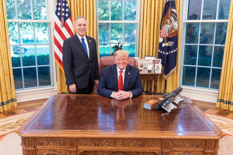 I'm thankful for President @realDonaldTrump and his exceptional leadership at the helm of our nation. He has fought every day for Americans, and he has kept his promises.   Our country is better off because of his tireless work on our behalf.