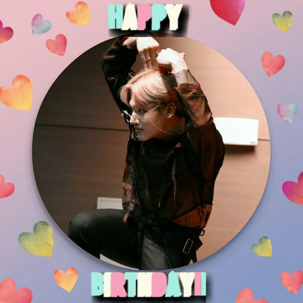 Happy Birthday #WOOYOUNG  #WooyoungDay 🎂❤  Acá todavía es 26 y estoy tan perdida en fechas, que todo se me pasa 🙆  Te amo ❤ Felicidades!!!  #ATEEZ #에이티즈  @ATEEZofficial