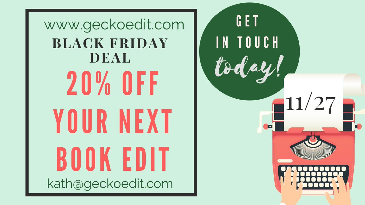 Happy Thanksgiving! Ive got a special offer for #BlackFriday2020! #WritingCommunity #NaNoWriMo #fiction #author #editing #proofreading #storytelling #discount #BlackFridayDeals #Editor
