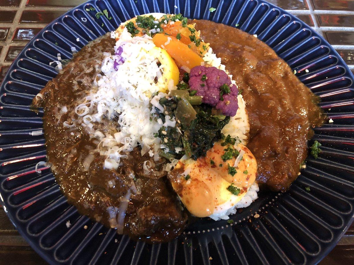 【12/1はvia del emmeさん特製カレー最後です!】毎週変わるジビエカレーの付け合わせ、来週も楽しみです😋ご予約はこちらから♪#カレー好きな人と繋がりたい #美味しいもの #イタリアン🇮🇹 #curry #curryrice #spice #スパイス