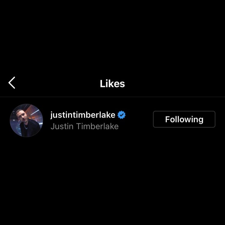 Justin Timberlake showed support for Abel, liking his Instagram post about the Grammys.