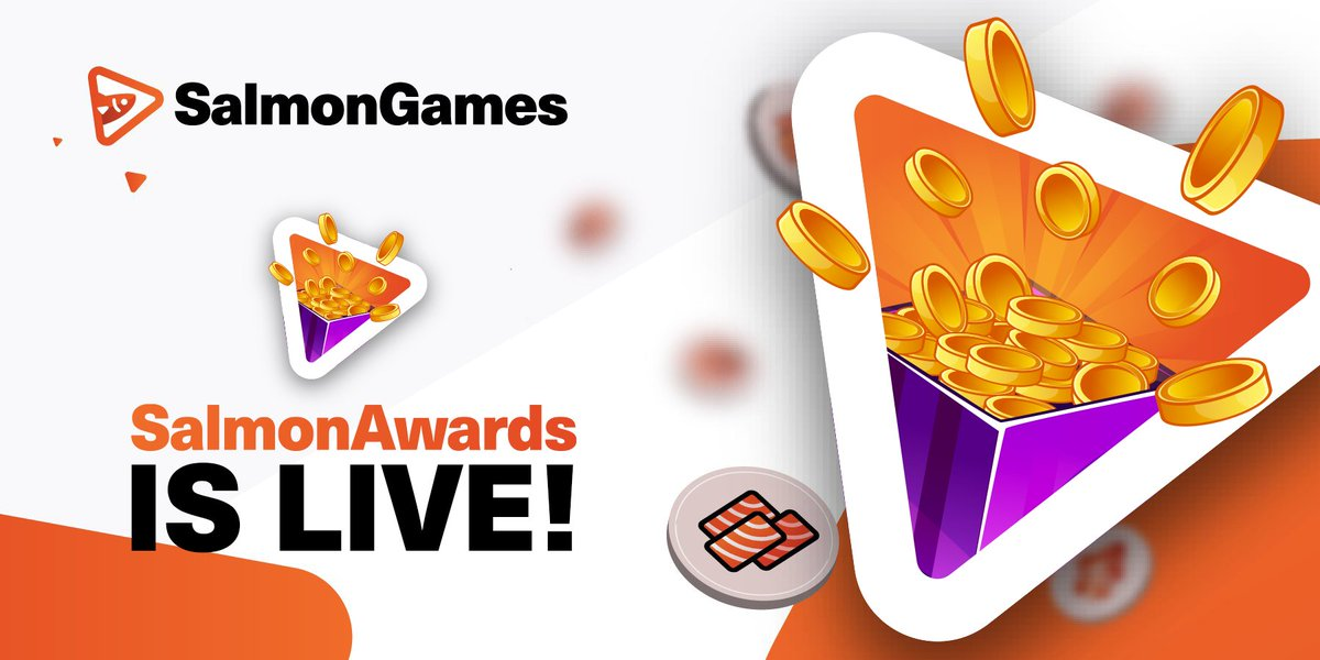 Dear community, we are happy to announce the release of the SalmonAwards at our casino - Salmon.Games! #SAN #taiETH #PEARL #TAI @Tronfoundation @justinsuntron @DeFi_JUST